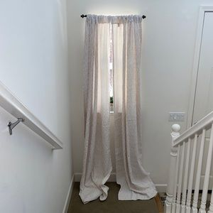 Jacquard curtains - Corral Pattern